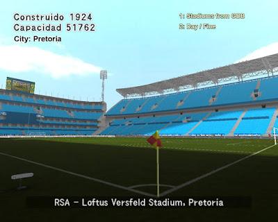 PES 6 Stadiums Loftus Versfeld Stadium