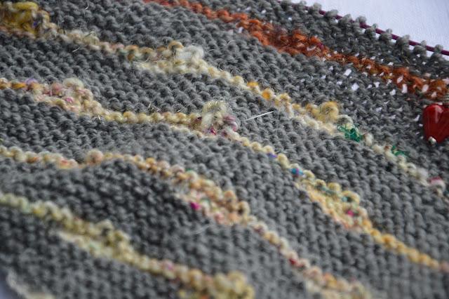 handspun, handgesponnen, shawl, Tuch Danzig, bystrickwerk