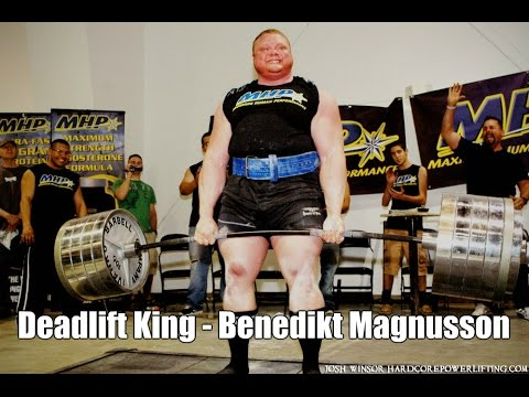 Benedikt Magnusson 1015 lbs (461.4 kg) Deadlift.  StrengthFighter.com