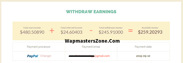 shortest payment proof 2015 2016 paypal