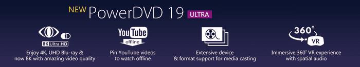 CyberLink - PowerDVD Ultra 19 Free download