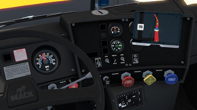 ats mack r series truck mod screenshots 2