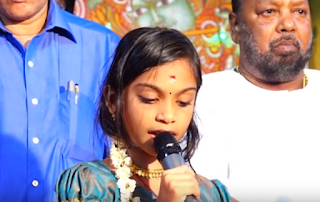 Sanjuktha Jayan Singing At Malayalapuzha Thombil Kottaram