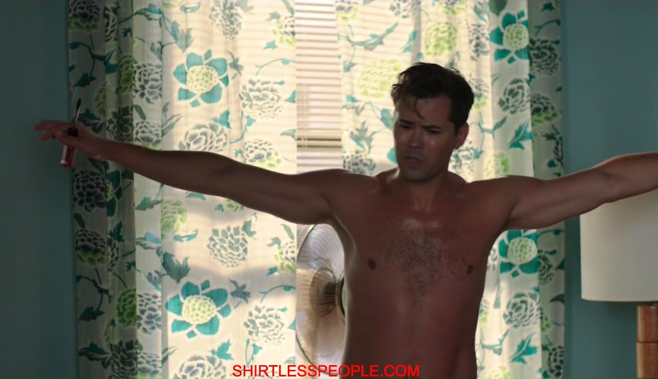 Shirtless People Andrew Rannells Shirtless Wearing Underwear In Hbo Girls-7178