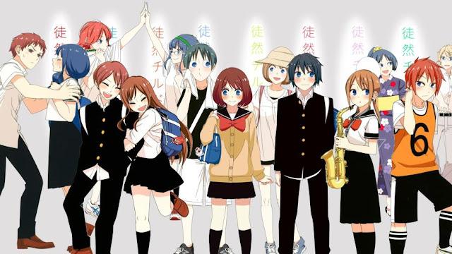 Tsurezure Children - Daftar Anime Romance School Terbaik Sepanjang Masa
