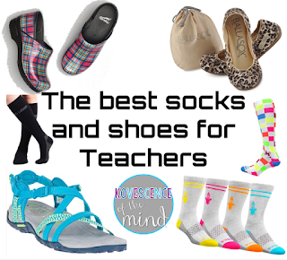 The Best Shoes and Socks for Teachers