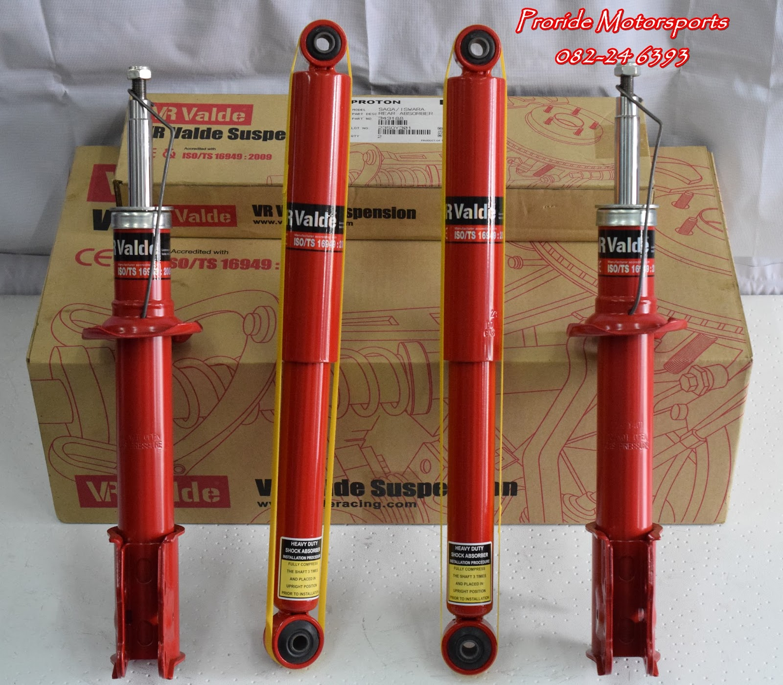 VR Valde Performance Shock Absorber | Pro-ride Motorsports
