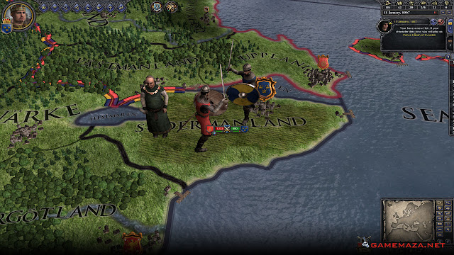 Crusader Kings II Gameplay Screenshot 1