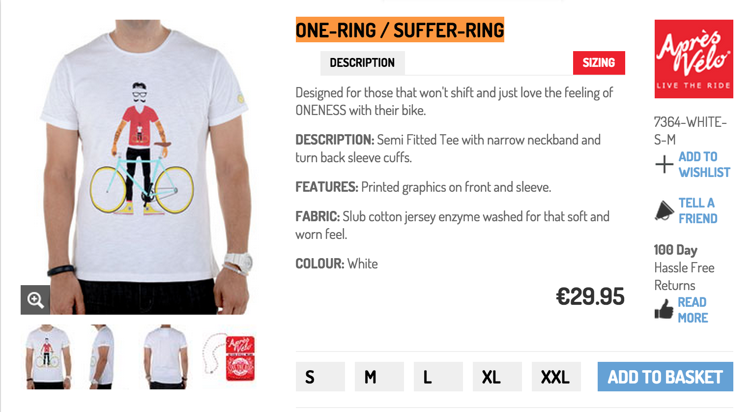 #ProductReview | ONE-RING / SUFFER-RING T-Shirt by Après Vélo