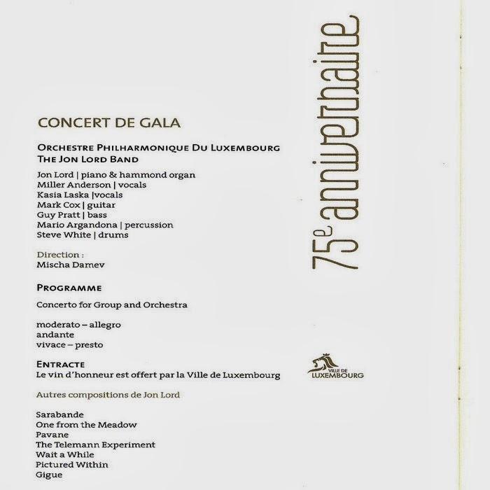 Jon Lord - Mischa Damev - Durham Concerto