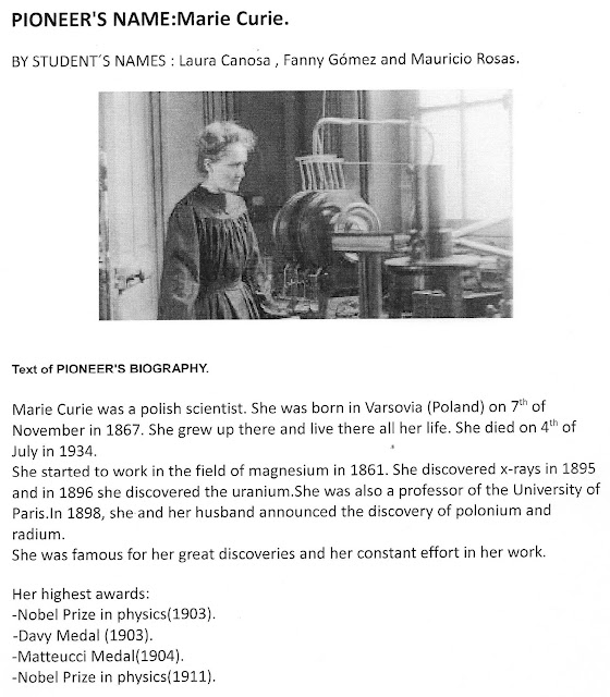 a biography of marie curie a nobel prize pioneer
