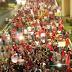Protesto na BR -101 altura do Arena das Dunas. Trânsito bloqueado sentido sul