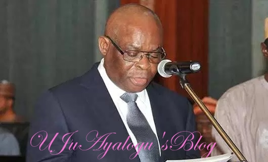 CJN Onnoghen orders judges to resume sitting 9am daily