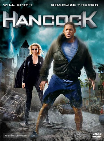 Poster of Hancock 2008 UnRated 720p Hindi BRRip Dual Audio Full Movie Download