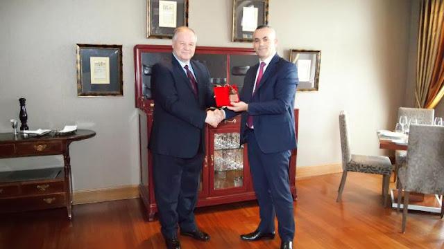 Ο Αρχηγός της Ελληνικής Αστυνομίας συναντήθηκε με το νέο Αρχηγό της Αλβανικής Αστυνομίας, στα Γιάννενα