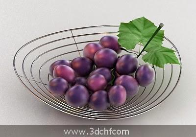 free 3d model grapes