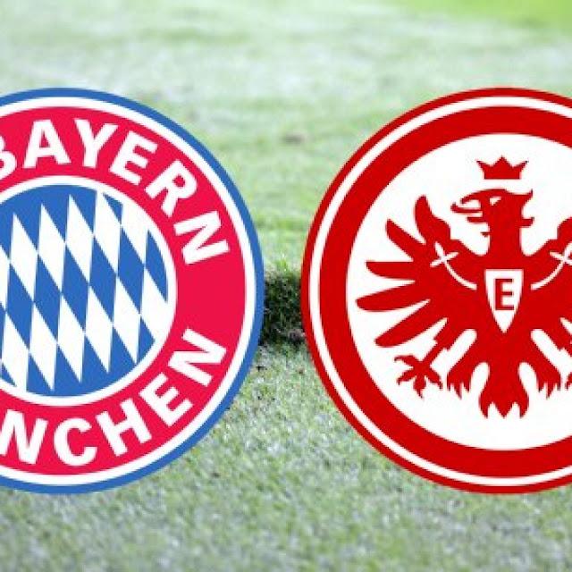 Bayern Munchen vs Eintracht Frankfurt