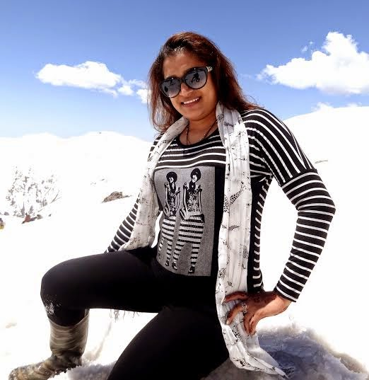 Ekta Jain went to Kashmir for altitude training,yoga camp & holiday