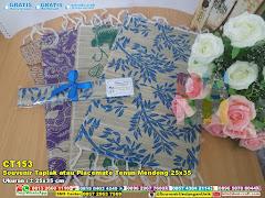 Souvenir Taplak Atau Placemate Tenun Mendong 25×35