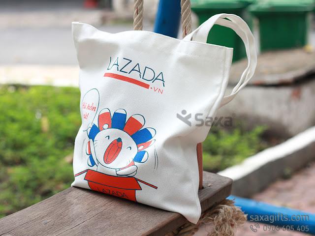 Túi vải canvas - 3 Gợi ý túi vải làm quà tặng doanh nghiệp giá rẻ dưới 50k