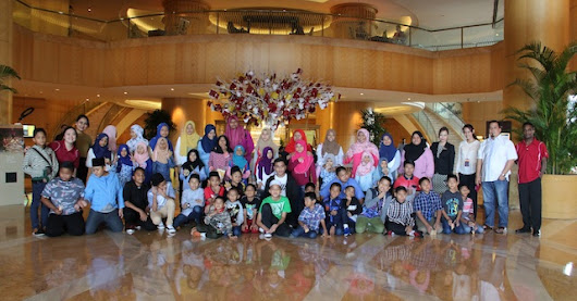 One World Hotel Petaling Jaya - An Afternoon with Children From Rumah Kasih Harmoni