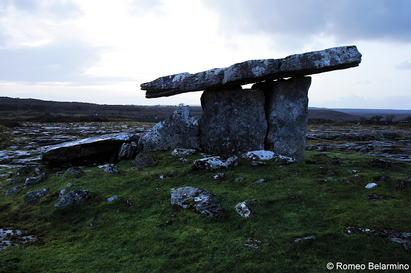 Poulnabrone Dolmen The Burren Things to See in Ireland Road Trip Itinerary