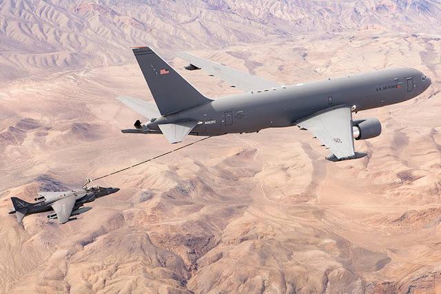 Boeing KC-46 Pegasus tanker aircraft