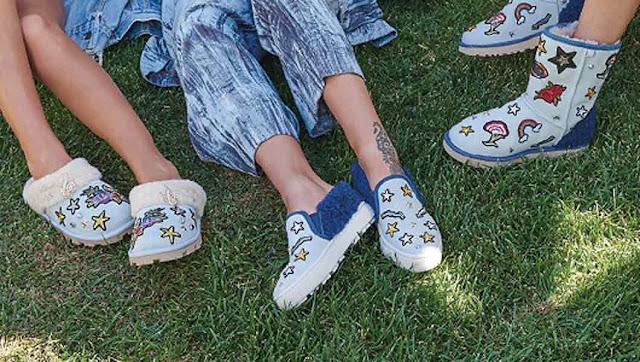 Patch Footwear