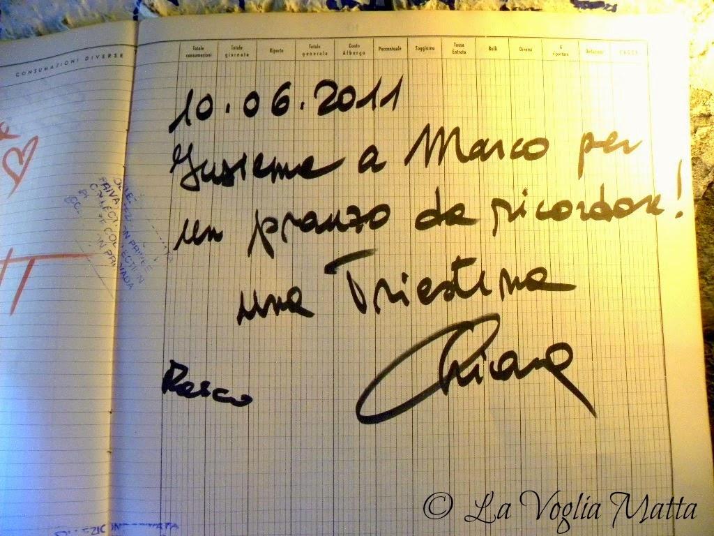 """Chioggia ristorante """" Jackie to night """" album presenze"""