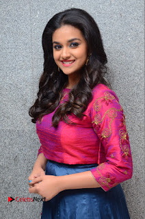 Actress Keerthi Suresh Stills at Remo Success Meet  0046.JPG