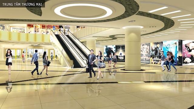 Trung tâm thương mại tháp Doanh nhân Hà Đông
