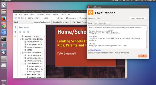 Como instalar o Foxit Reader 2.2 no Ubuntu, Fedora, openSUSE e derivados!