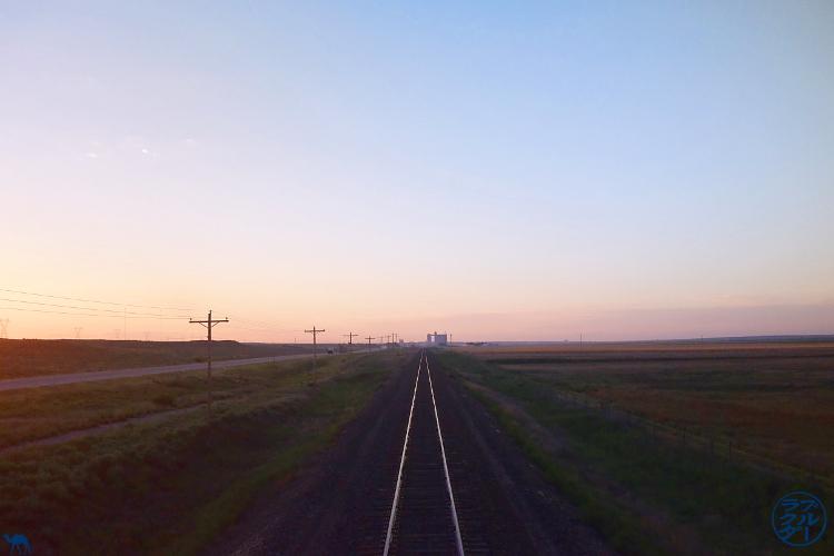 Le Chameau Bleu - Blog Voyage Amtrak  -  Southwest Chief Train- Rail à perte de vue