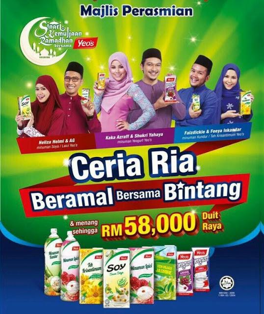 eo's Ceria Ria Beramal Bersama Bintang & Menang Duit Raya Musim Kedua.