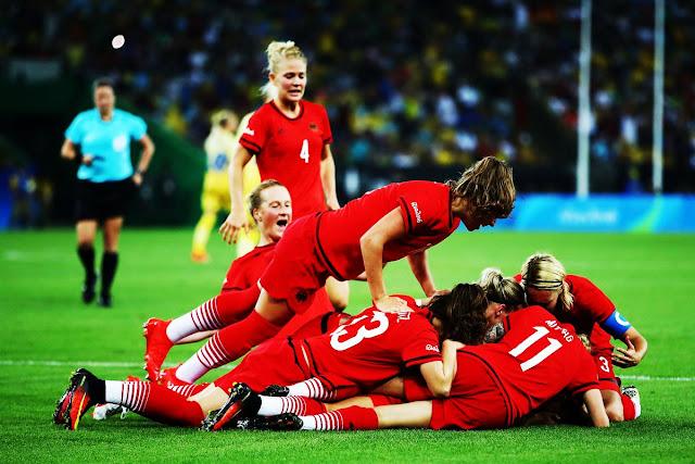 É ouro: Alemanha é campeã olímpica pela 1° vez
