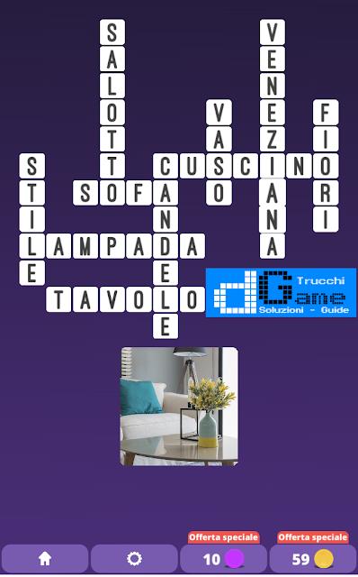 Soluzioni One Clue Crossword livello 19 schemi 13 (Cruciverba illustrato)  | Parole e foto