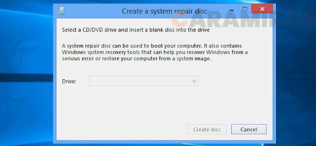 Menghapus Sistem Operasi Dual Boot di Windows - create a system
