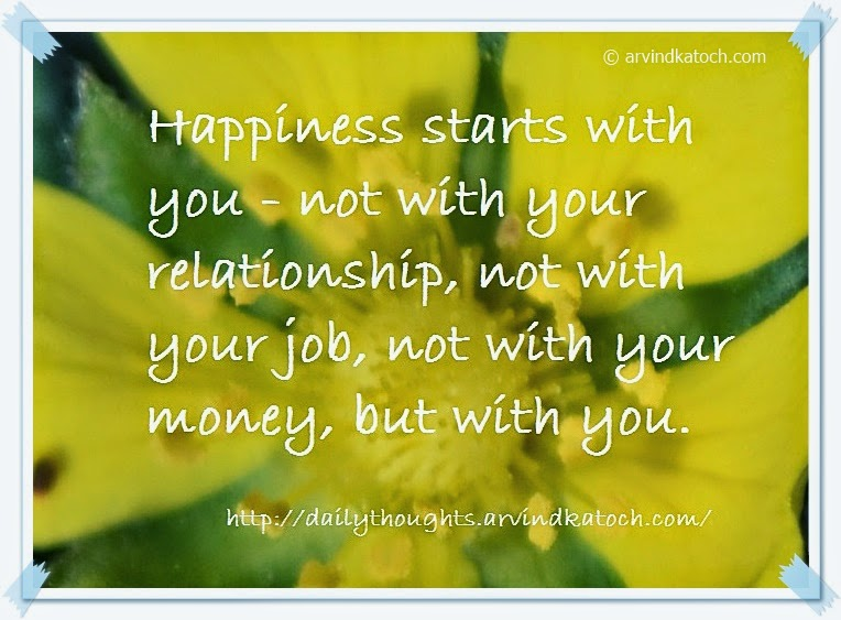 Happiness, relationship, job, money, Quote, Thought,