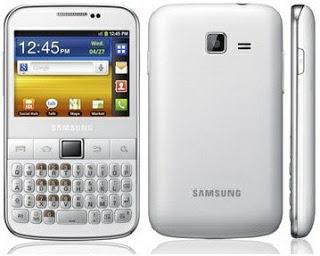 Rom Samsung Galaxy Y Pro GT-B5510 Android 2.3.6 Gignerbread