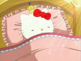 Gambar Hello Kitty Tidur Sleeping Hello Kitty Cute Pics