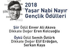 Yasar Nabi Nayir Genclik Odülleri 2018 Sonuclari Aciklandi