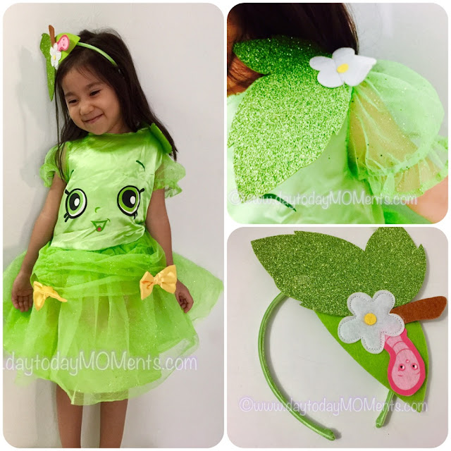 Shopkins girls costume