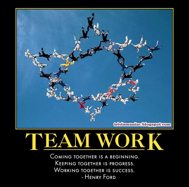 Quotes Together We Can Succeed: Poorni Kuttalam: TEAM WORK