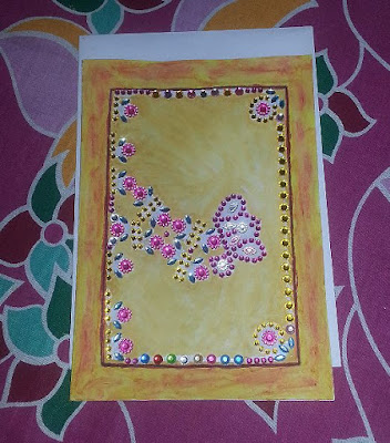 New Hand Made Card