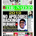 NIGERIA NEWSPAPERS: TODAY'S THE NATION NEWSPAPER HEADLINES [13 JANUARY, 2018].