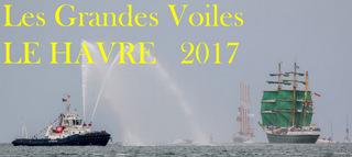 Photos du rassemblement de grands voiliers au Havre en 2017