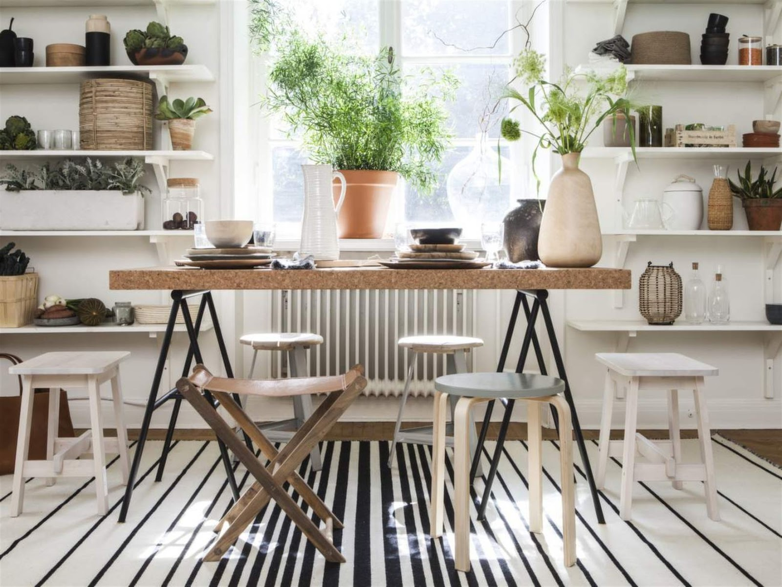 Decorating with natural materials