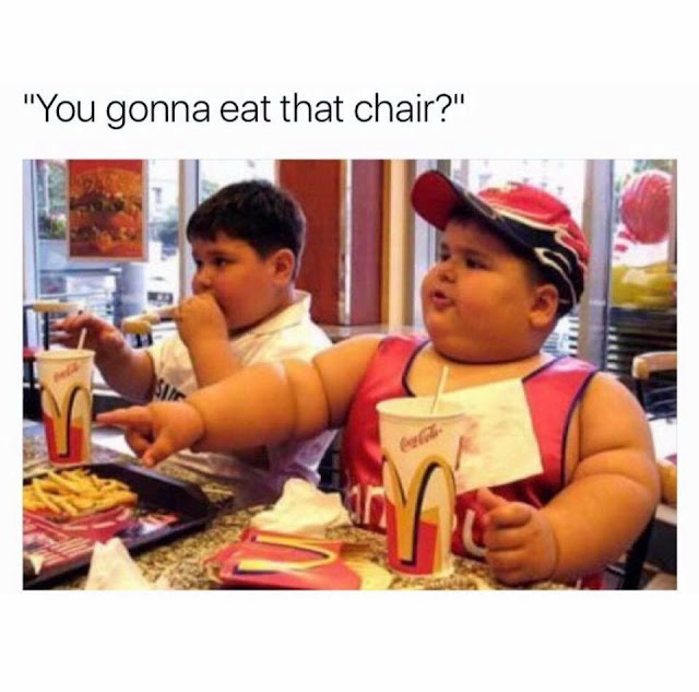 Funny fat kid: You Gonna Eat That Chair? Picture