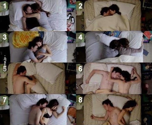 Knowing The Couple's Psychological Condition From Sleep Position