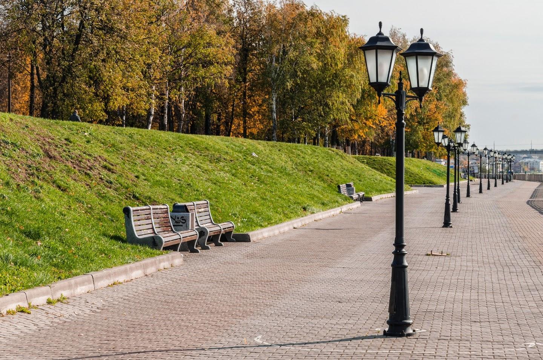 Набережная в Костроме